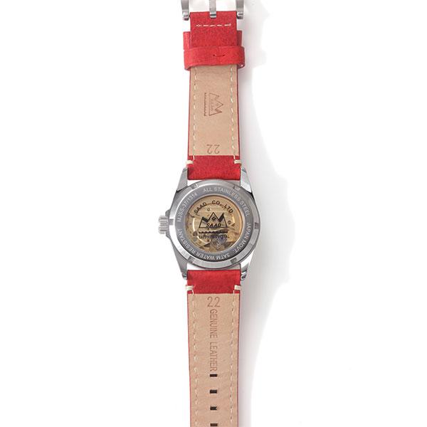 ホワイトハウライト オートマチック自動巻き腕時計