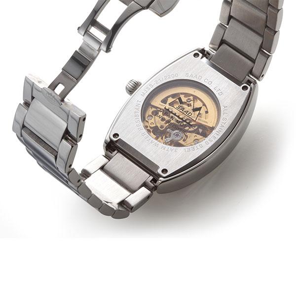 タイガーアイ オートマチック自動巻き腕時計 MJSS-21-TE/XWT-7-S