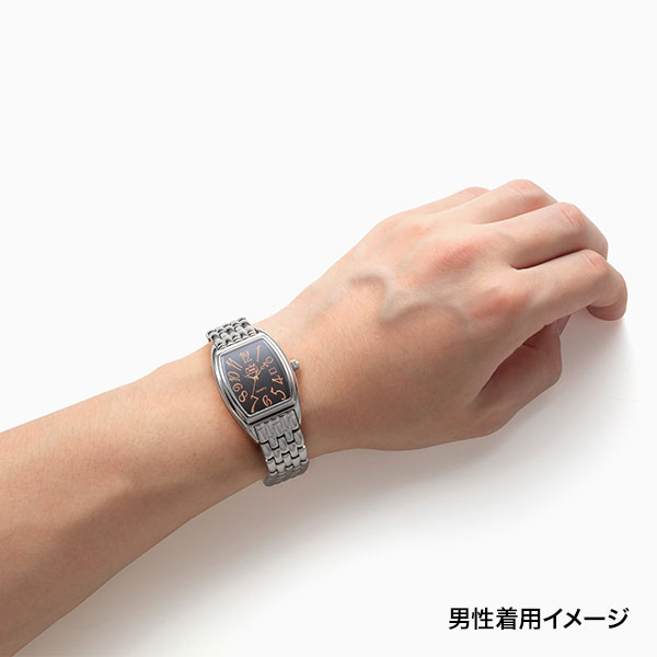 オニキス クオーツ式腕時計