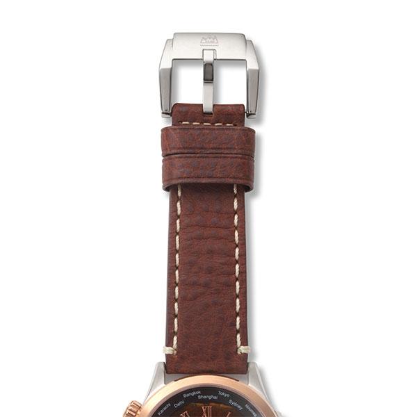 タイガーアイ クオーツ式腕時計