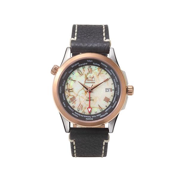 スターリングオパール クオーツ式腕時計