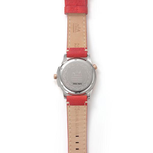 オニキス クオーツ電池式腕時計 WQPR-3-NX/WBS-14-RED-22
