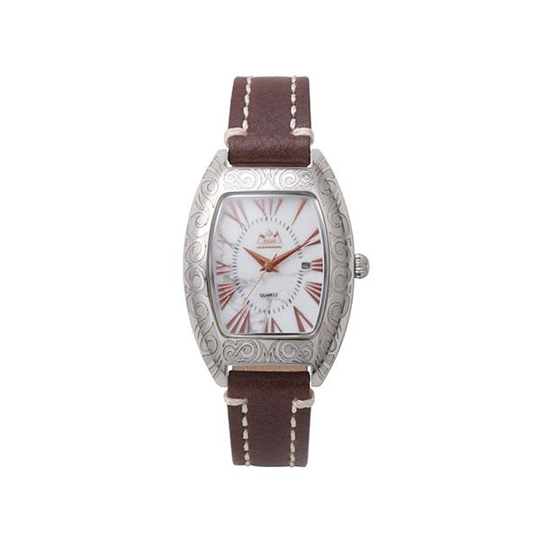 ハウライト クオーツ電池式腕時計