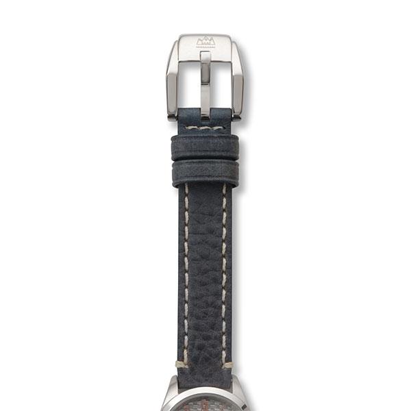カーボン クオーツ式腕時計