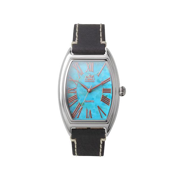 タイガーアイ クオーツ電池式腕時計