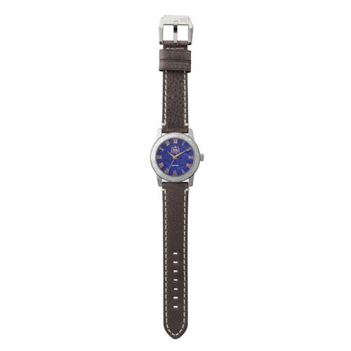 ラピスラズリ クオーツ式腕時計