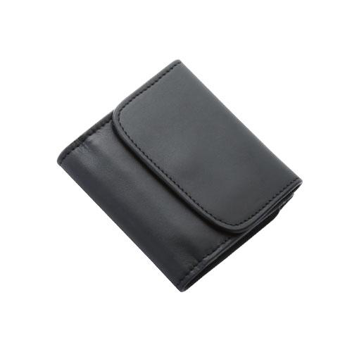 ショートウォレット/革財布 ブラック オイルドレザー WLO-149-BK
