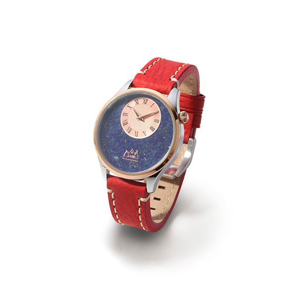 ラピスラズリ クオーツ電池式腕時計