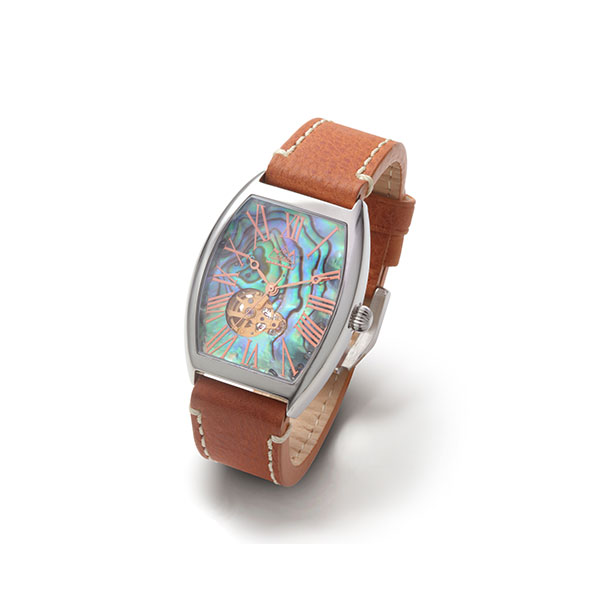 パウアシェル オートマチック自動巻き腕時計
