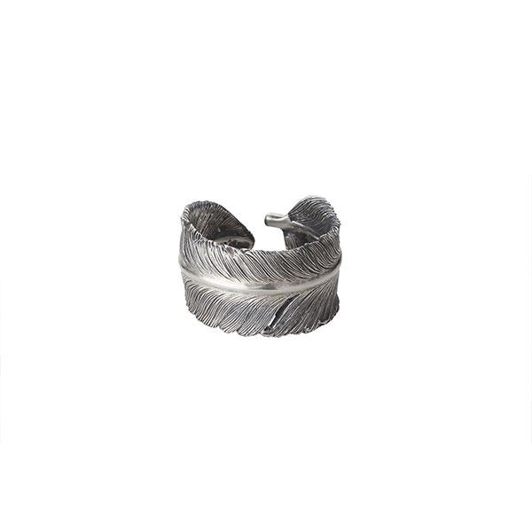 フェザーモチーフ シルバー925リング/指輪 R-97-S