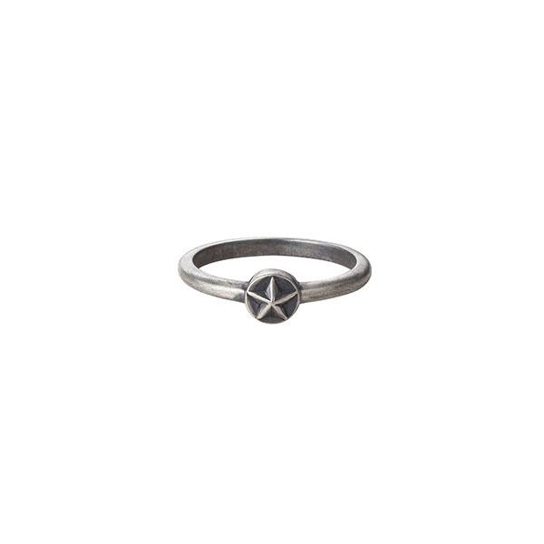 スターモチーフ シルバー925リング/指輪 R-99-S
