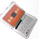 カードケース(10枚収納可能、オーロラ・ラメ生地)