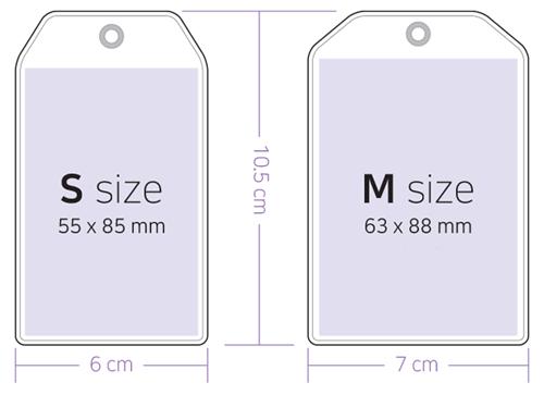 ワンポケットカードホルダーSサイズ(グリッター追加可能)