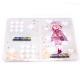 パスポートケース(フルカラー全面印刷・オーロラ/ラメ生地・グリッターオプション追加可能)