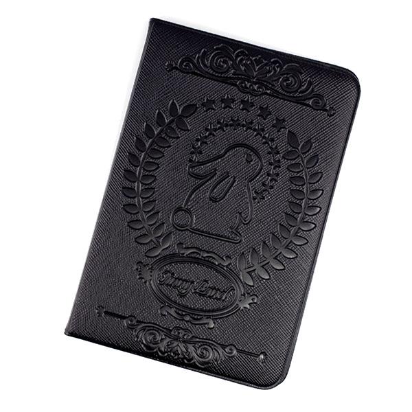 パスポートケース(PU/DS合皮生地・箔押し/焼印・片面のみ可能)