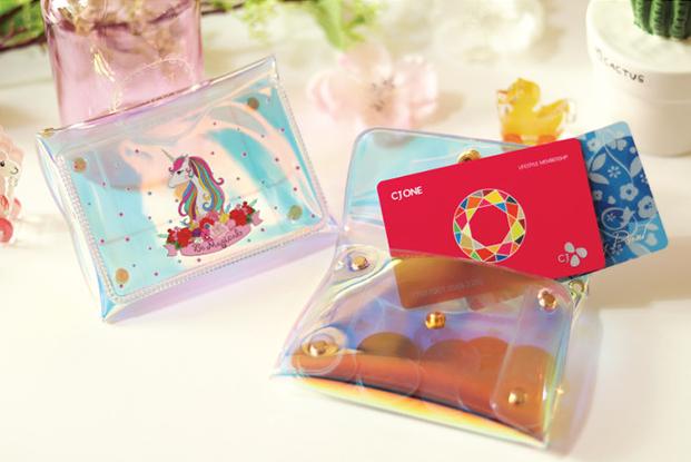 ポケット印刷 カード・名刺入れ(ラメ生地・オーロラ生地)