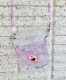 PVC マルチコップホルダーオーロラ・ラメ生地(ネックストラップ付き・持ち手は追加可能)