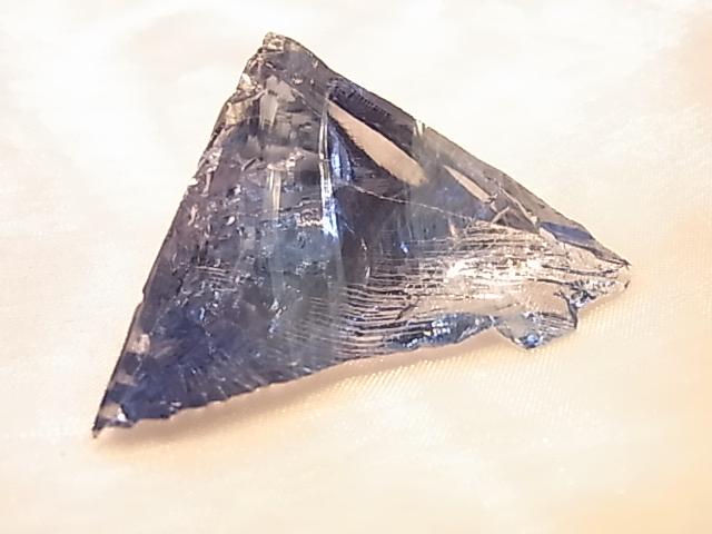 GGI0006K 天然アンダラクリスタル(ラベンダーブルー) シャスタ産
