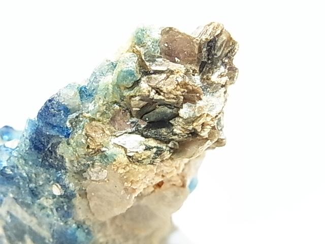 AR0007F ユークレース(稀少石) 原石 ジンバブエ産