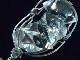 PKM0055F ハーキマーダイヤモンド 原石ペンダントトップ