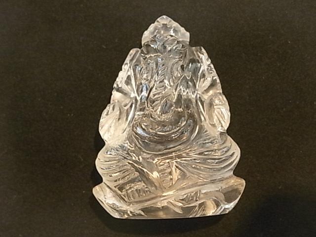 CA00049F ヒマラヤ水晶 ガネーシャ像