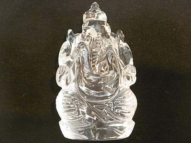 CA00050F ヒマラヤ水晶 ガネーシャ像