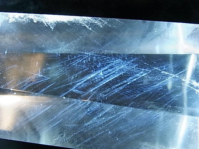 POK0001F  ☆エンジェルラダー☆【高品質】 レムリア水晶ポイント【GEO DESIGN】