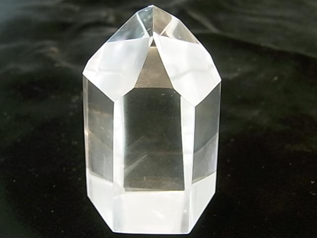 POK0003F ☆エンジェルラダー☆ 【高品質】 レムリア水晶ポイント 内包物入り【GEO DESIGN】