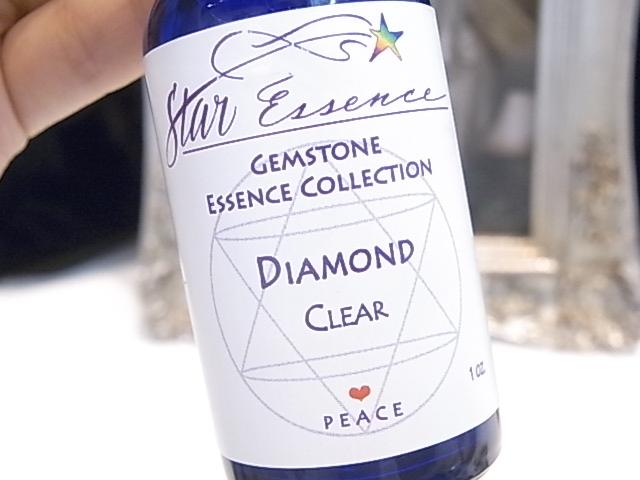 SA00010F クリスタルエッセンス(スターエッセンス)ダイヤモンド