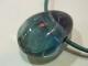 PKM0057F ブルーフローライト 穴あきペンダントトップ
