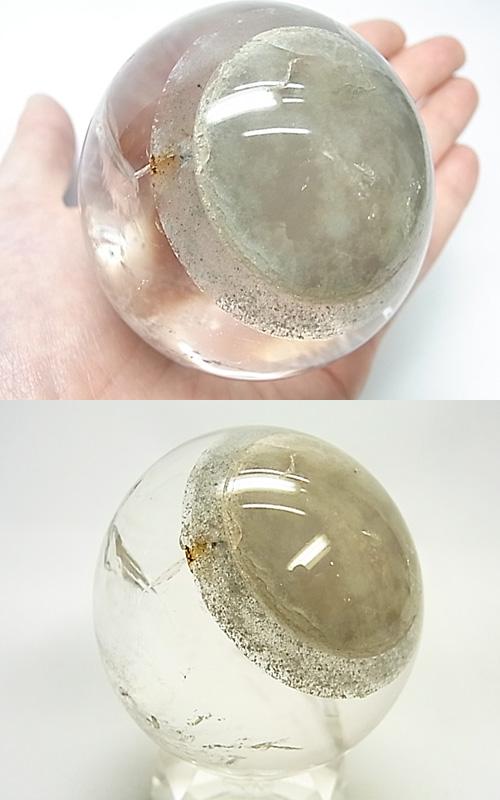 SEM0043 天眼水晶 64mm丸玉