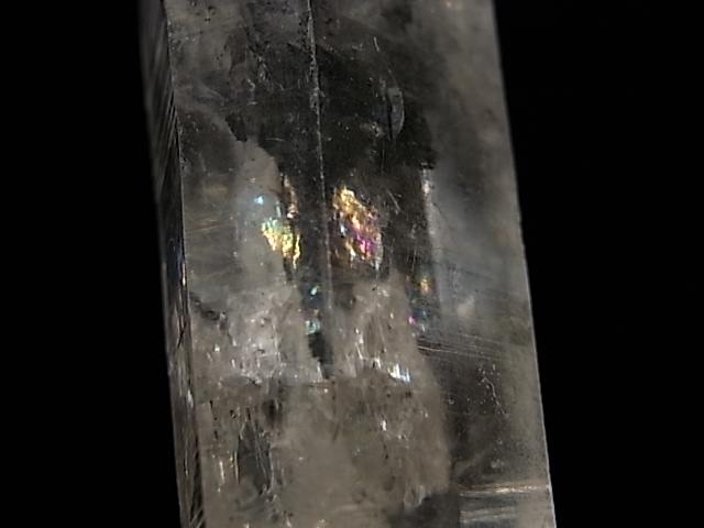 GA00065K チベットクォーツ(稀少石) ダブルポイント、水入り