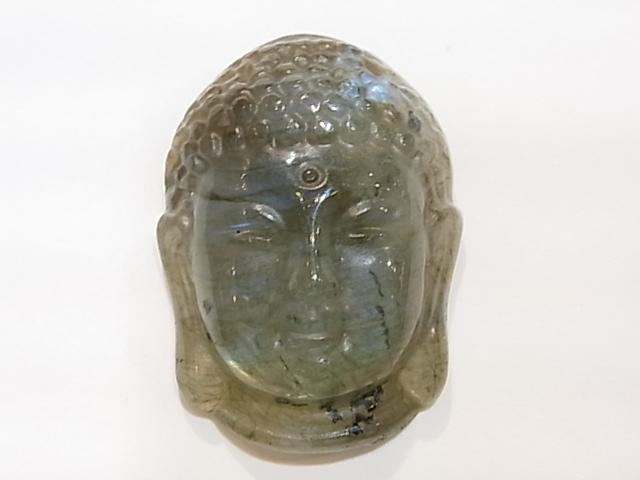 CA00020K ラブラドライト彫り(仏陀)