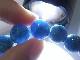 BA00072K ブルーアパタイト 約10mm玉ブレスレット