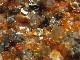 GKM0017F スペサルタイトガーネット・スモーキークォーツ・マイカ 原石