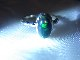 RRI0001F エチオピアブラックオパール シルバーリング