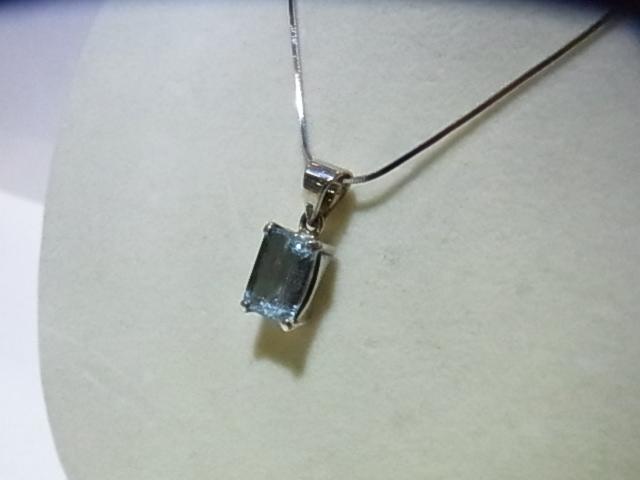 PKM0048F アクアマリン ペンダントトップ