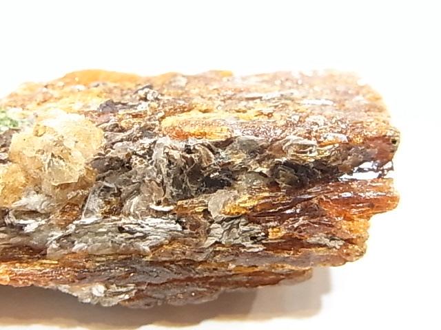 AR0003F カヤナイト、スぺサルタイトガーネット 原石 タンザニア産