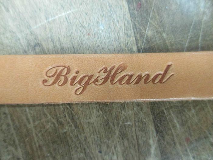 BIG HAND ECO LEATHER レザーブレス 292-00049