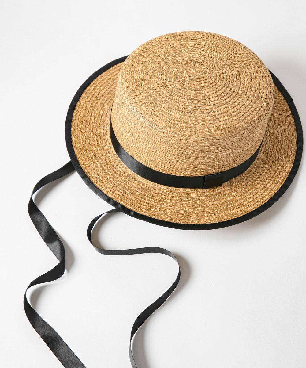 カンカン帽(dark natural)