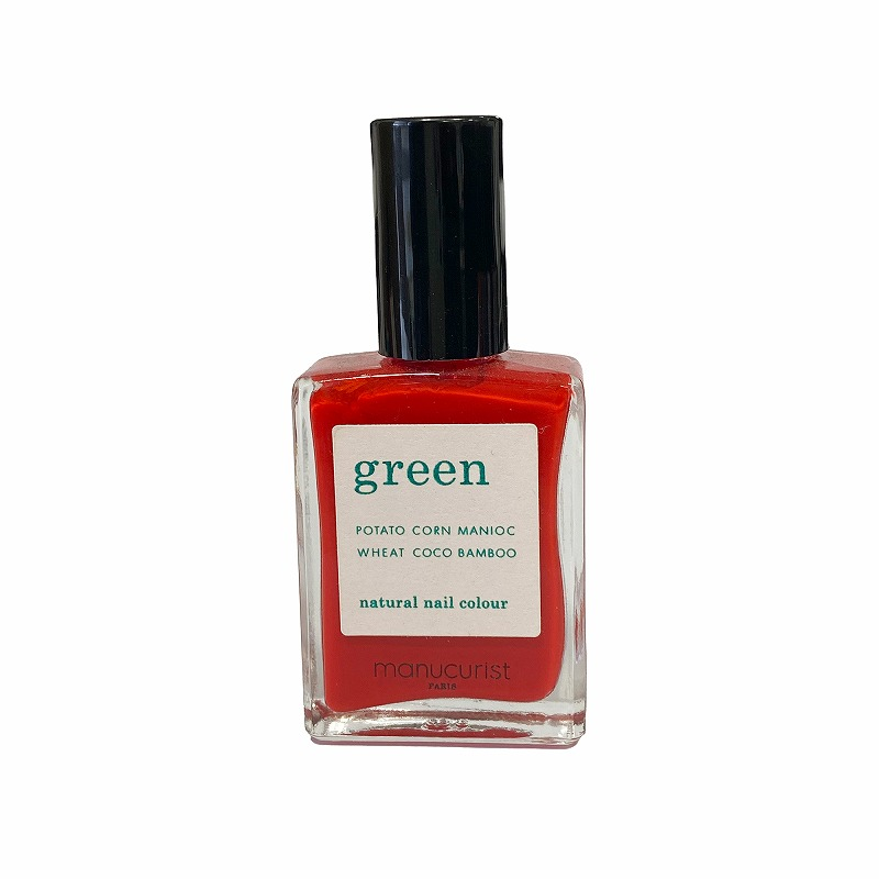 グリーン ナチュラルネイルカラー ポピーレッド 31003