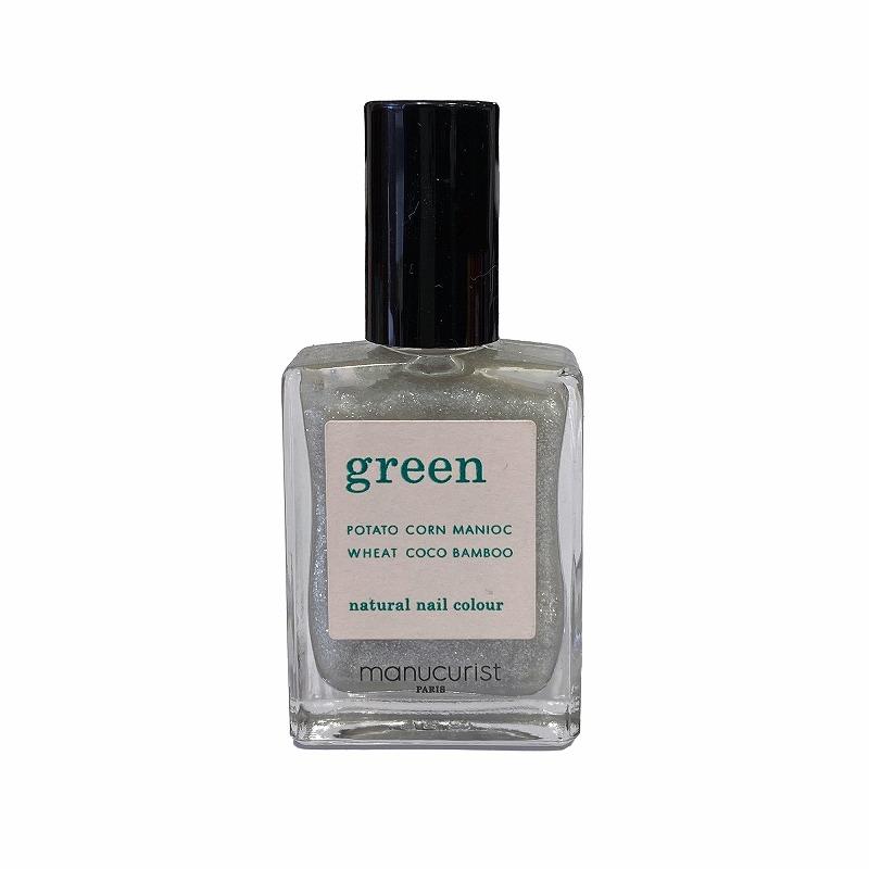 グリーン ナチュラルネイルカラー ディアモン 31046