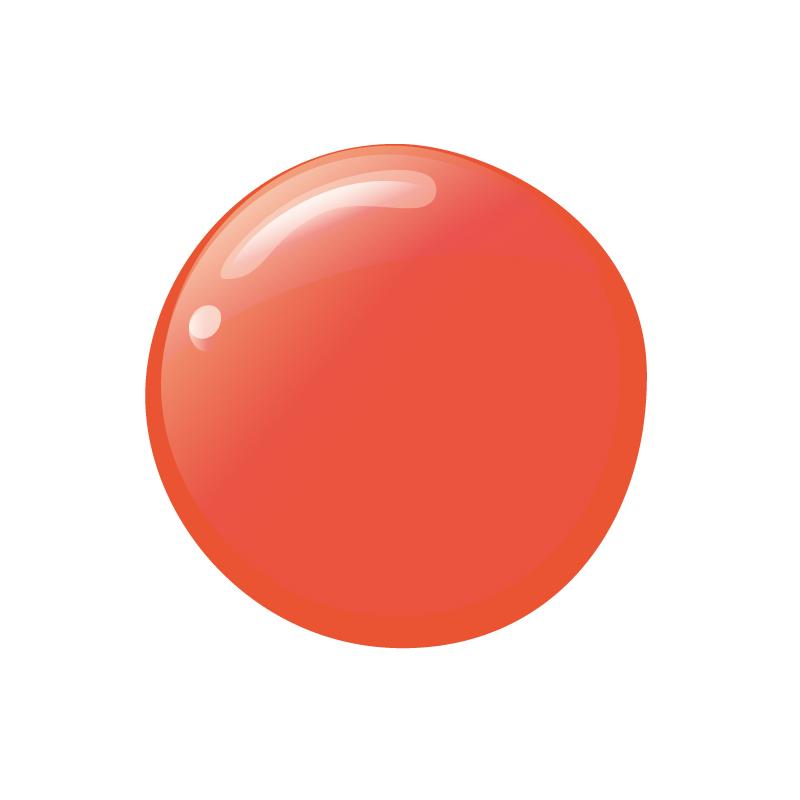 グリーン ナチュラルネイルカラー オレンジ 31031