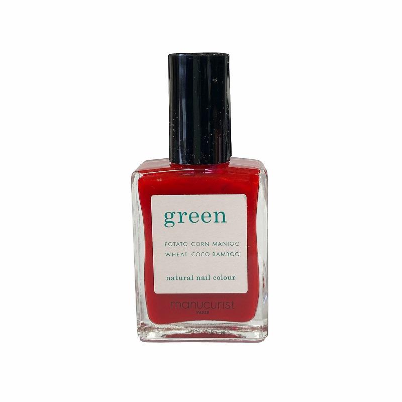 グリーン ナチュラルネイルカラー レッドチェリー 31005