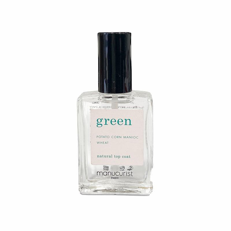 グリーン ナチュラルトップコート 31501
