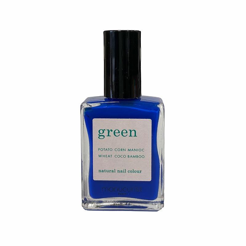 グリーン ナチュラルネイルカラー アルトラマリーン 31041