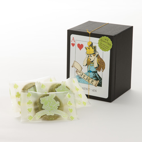 抹茶クッキー(12枚入)アリス箱入り