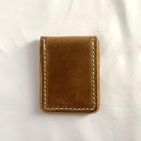 ヒラキヒミ カードケース Natural