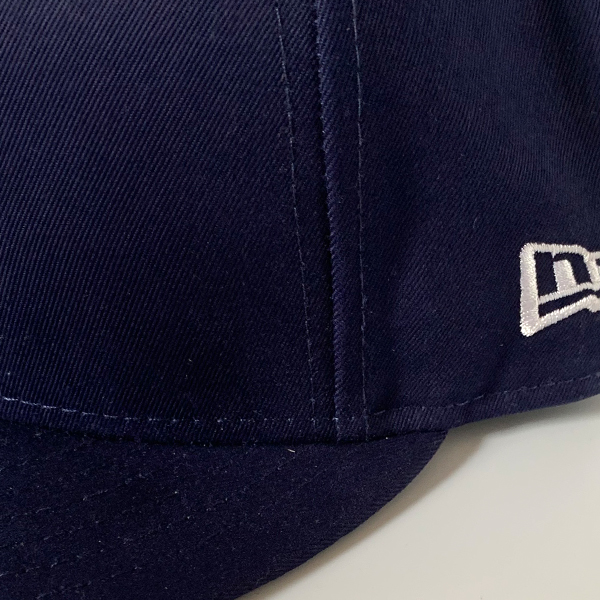 yarmo / ヤーモ Yarmo-Embroidered 59 FIFTY Navy×White