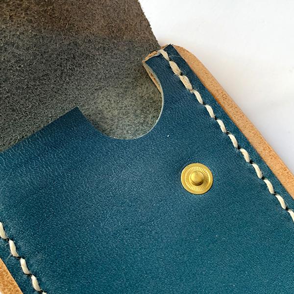 ヒラキヒミ カードケース 栃木レザー